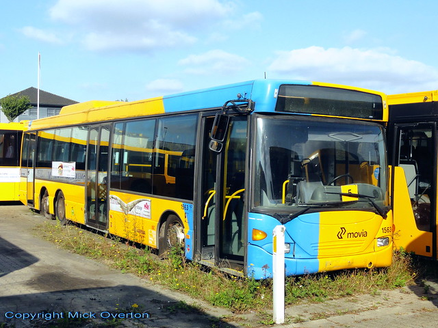 2006 Scania Omnilink ARRIVA 1563 stored here since late 2017 was sold for scrap 29/9/2020