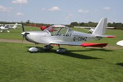 G-CBMZ Evektor EV-97A [2001-1136] Sywell 310818