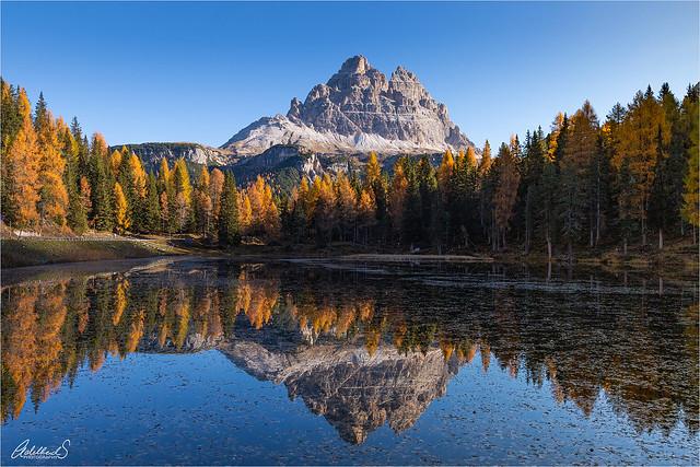 Lago Antorno, Italy