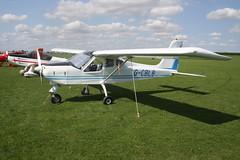 G-CBLB Tecnam P92 Echo [PFA 318-13770] Sywell 310818
