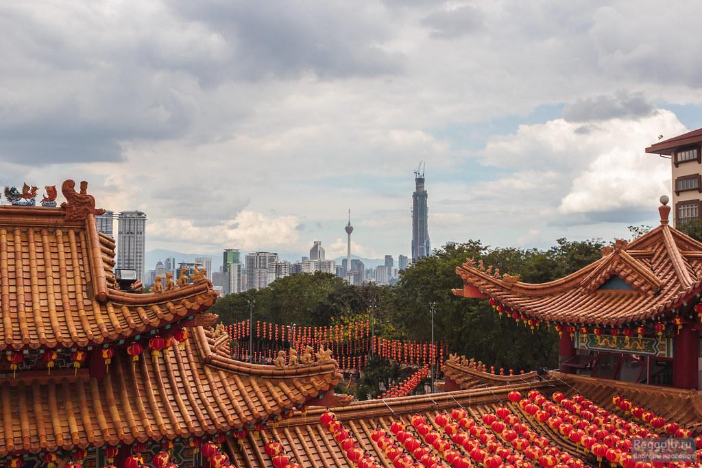 Малайзия Куала-Лумпур храм Тянь Хоу