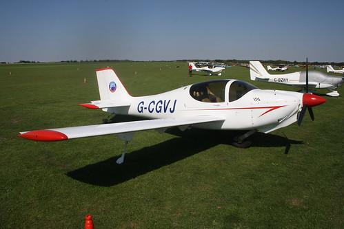 G-CGVJ Europa XS [PFA 247-13752] Sywell 020918
