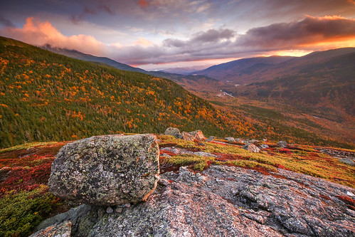 newhampshire landscape fall autumn mtwashington whitemountains sunrise newengland hiking hike