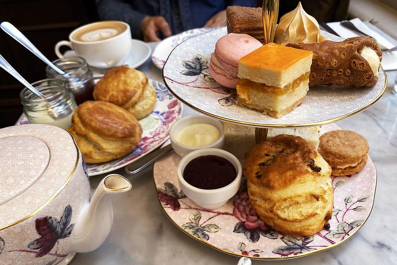High tea at The Palace