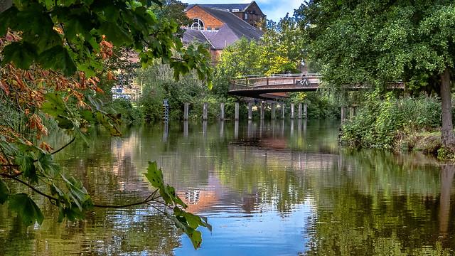 Peter Jarrold Bridge, Norwich,uk