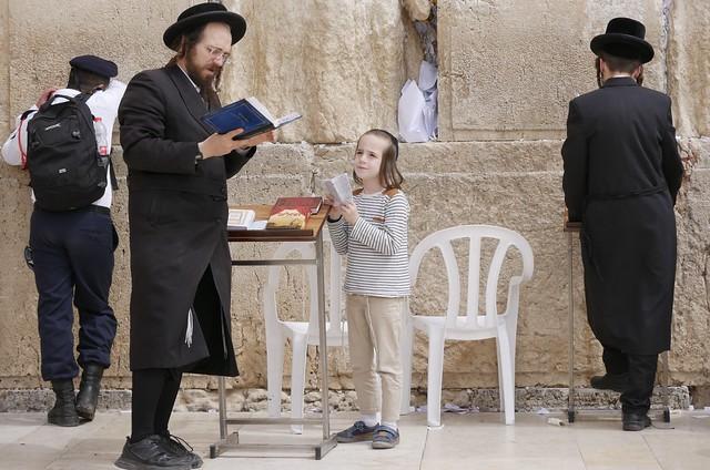 Prayers with dad, HaKotel, Jerusalem
