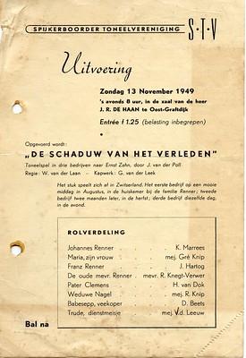 Stv - 1949-11-13 - affiche Het Lied van de Zee - 001