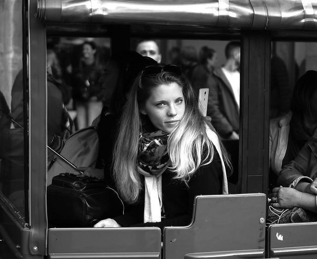 Princess in the carriage.