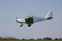 G-CCBM EvektorEV-97 [PFA 315-14023] Sywell 020918