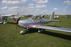 G-CBJR Evektor EV-97R [2001-1139] Sywell 310818