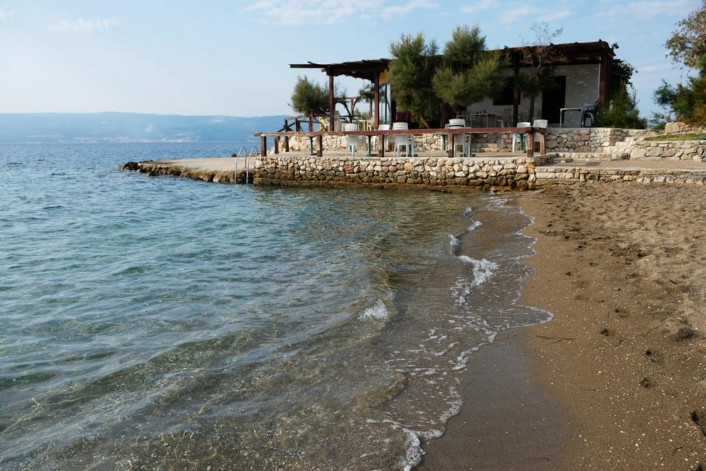 Sandy Beaches In Croatia: Duće, Omiš Riviera, Croatia