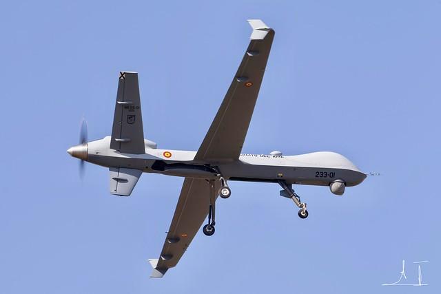 Predator B del Ejército del Aire