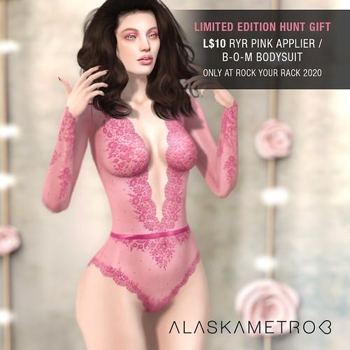 "alaskametro<3 ""Eva"" pink version - L$10 hunt gift"