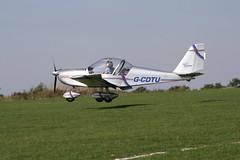 G-CDTU Evektor EV-97 [2005-2522] Sywell 020918