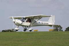 G-CFBE Ikarus Comco C-42 [0804-6958] Sywell 010918