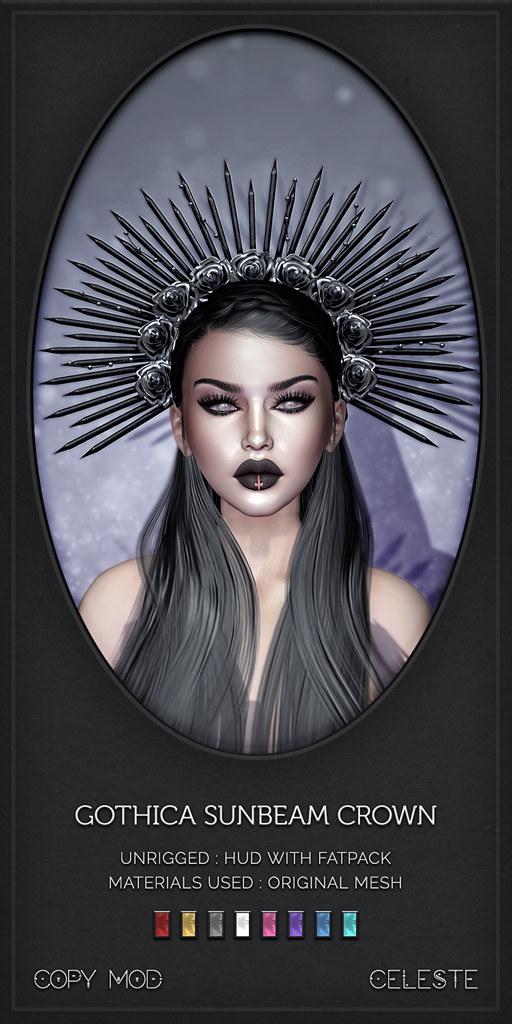 CELESTE – Gothica Sunbeam Crown