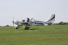 G-CIDW Evektor EV-97 [LAA 315-15227] Sywell 010918