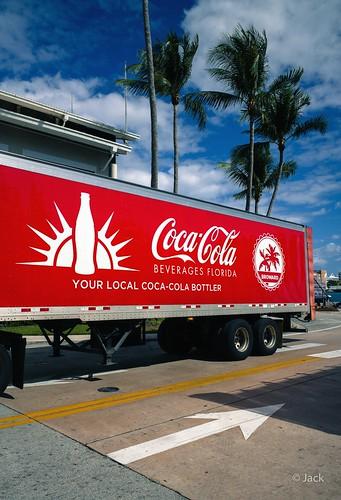 Miami mood - Coca-Cola truck
