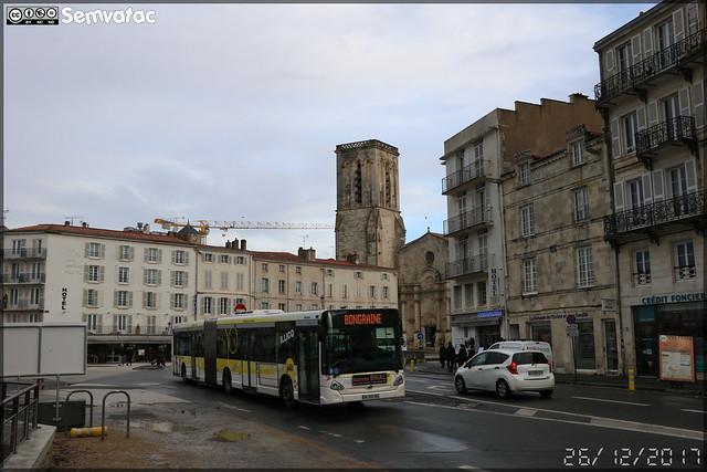 Heuliez Bus GX 427 – RTCR (Régie des Transports Communautaires Rochelais) / Yelo n°352