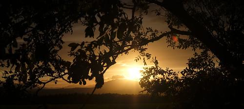 saddleback blencathra cumbria penrith sunset