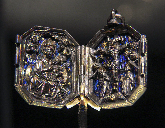 Pendant with the scenes from the Life of Christ, about 1450-80, Northern Germany
