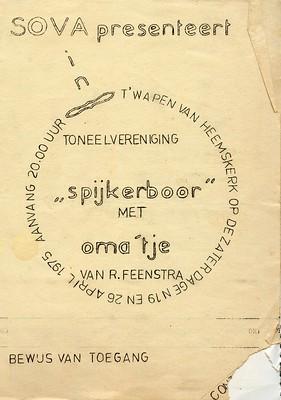 Stv - 1975-04-19 - Affiche Omaatje - 001