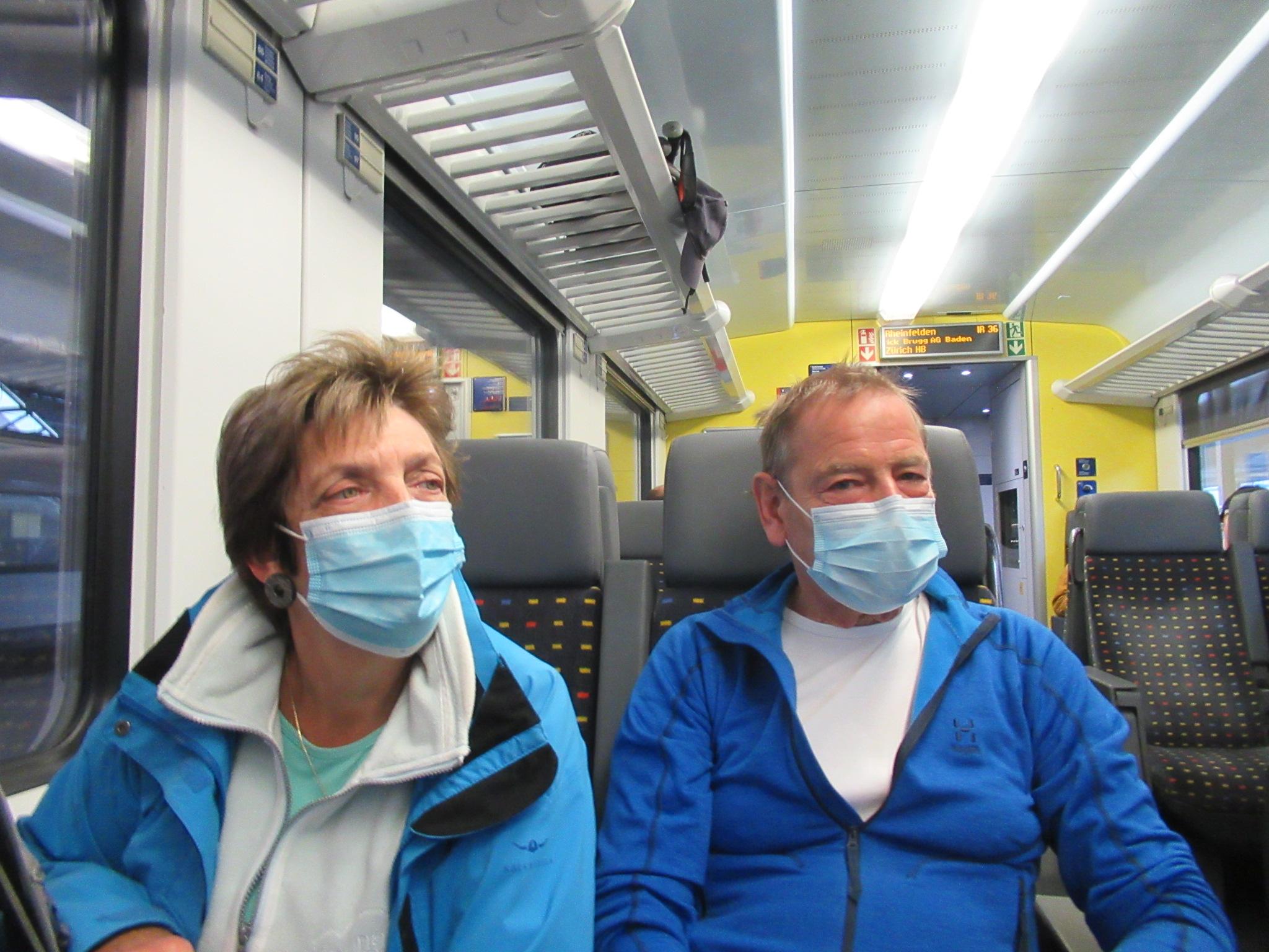 Seniorenwanderung Stafelegg - Oberflachs 01.10.2020