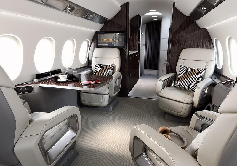 El confort, la exclusividad y la discreción, denominadores comunes de los viajes en Falcon
