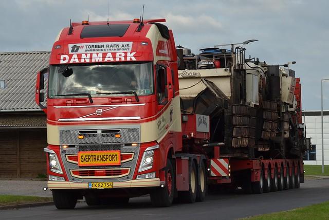 Volvo FH4 500 - Torben Rafn Sværtransport Sommersted - DK  CK 82 754