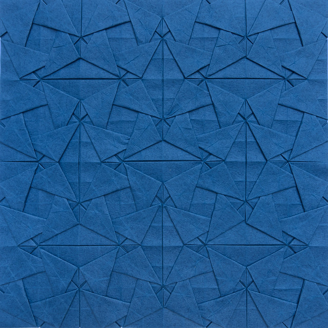 Woven Triangles Tessellation I (symmetric)