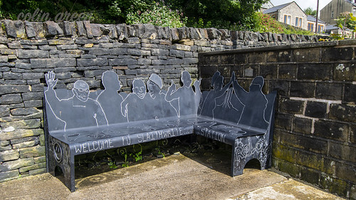 Welcome to Slaithwaite Bench at the Station