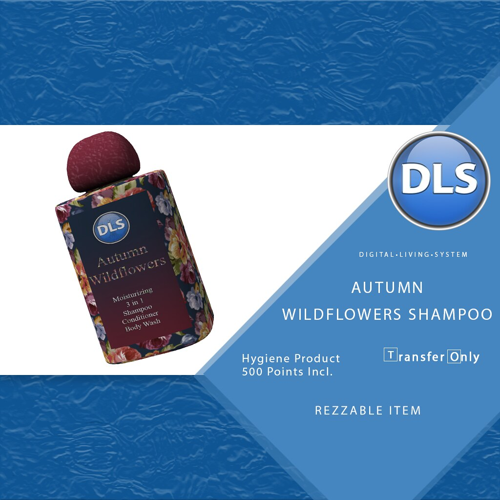 DLS Autumn Wildflower Shampoo