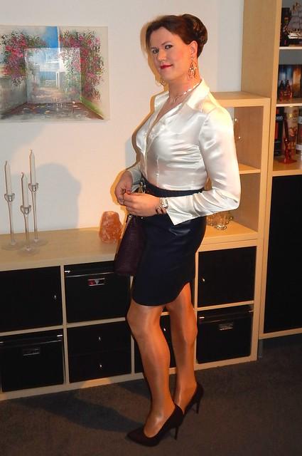Satin & Leather