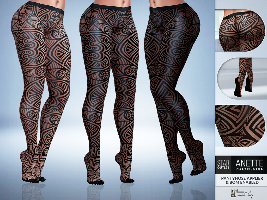 Star Outlet Pantyhose Anette Polynesian – Maitreya Applier & BoM