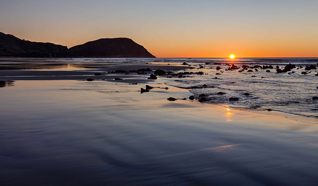 Sunrise at Makorori Beach, Gisborne NZ