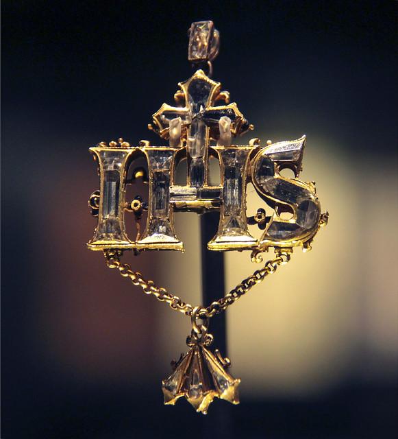 IHS pendant, 1580-1600, England