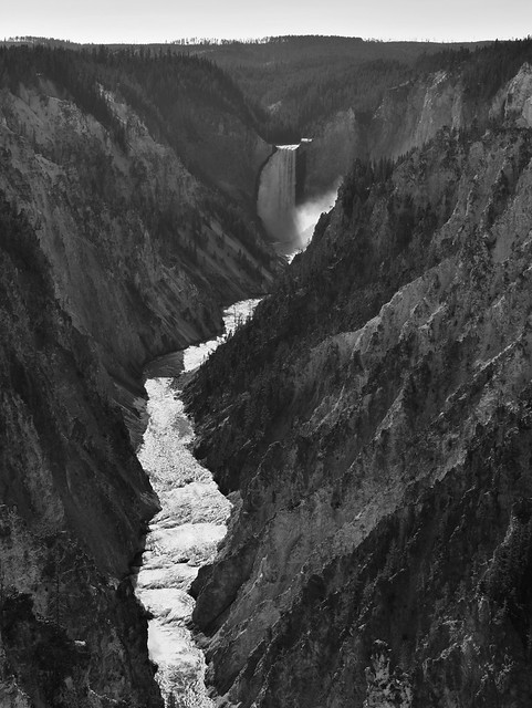 Grand Canyon of the Yellowstone and Falls