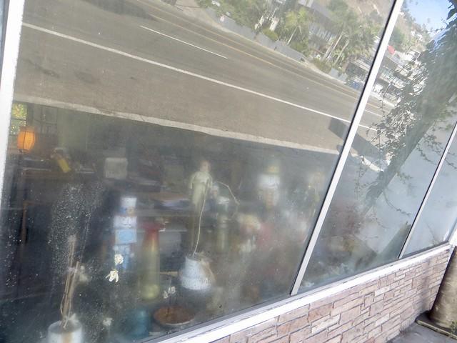 strange little storefront along pch