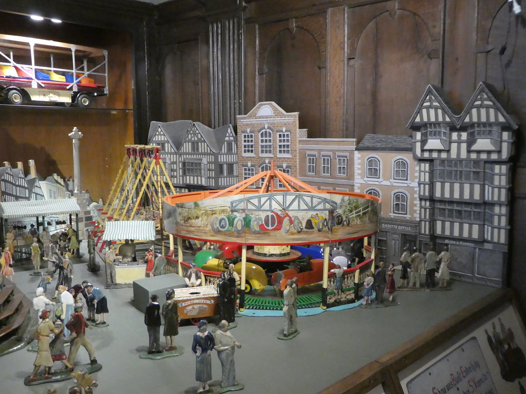 Scale model fairground, Tewkesbury Town Museum
