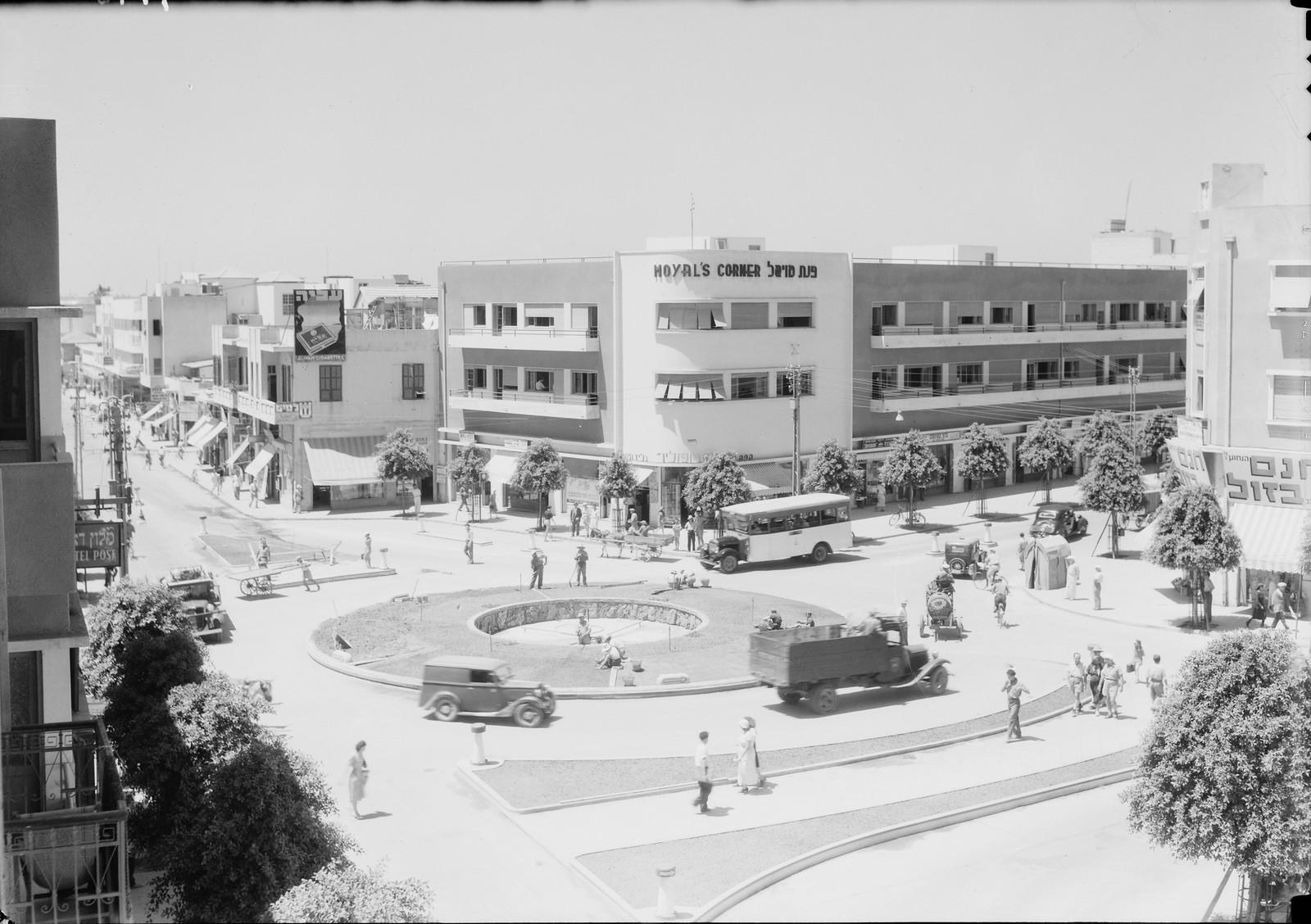 19. Тель-Авив. Площадь на пересечении улиц Яффо и Алленби