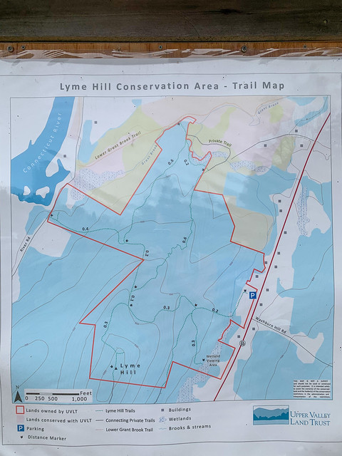 Lyme Hill: hiking newhampshire lymehillconservationarea lyme map unitedstates