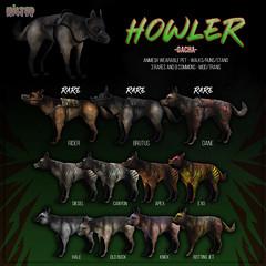 HILTED - Howler Gacha