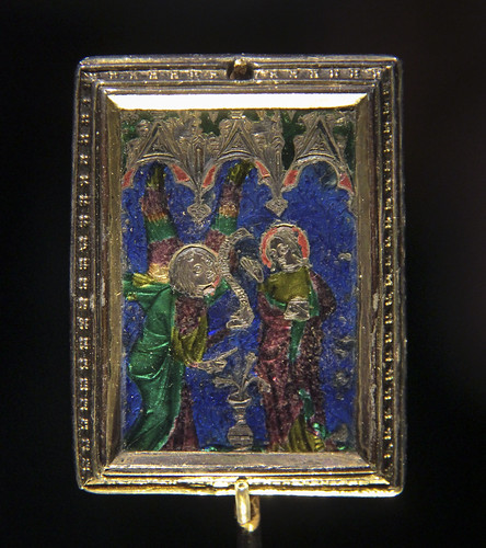 Plaque with the Virgin Mary, about 1350
