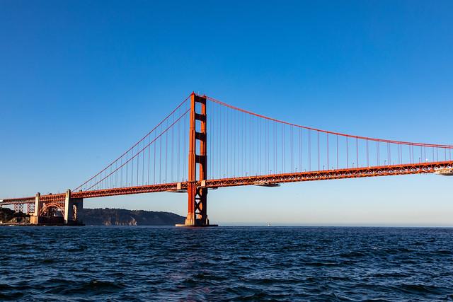 Armchair Traveling - Outside the Golden Gate Bridge