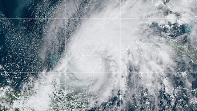 Tropical Storm Gamma - Oct 3, 2020