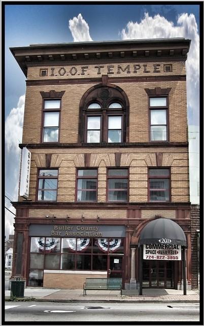 Butler Pennsylvania - Butler County Bar Association - AKA I.O.O.F Temple - 210 Main Street
