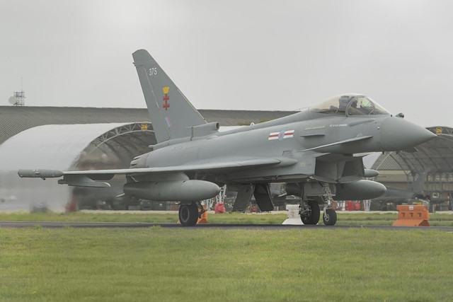 Royal Air Force Eurofighter Typhoon FGR4 ZK375