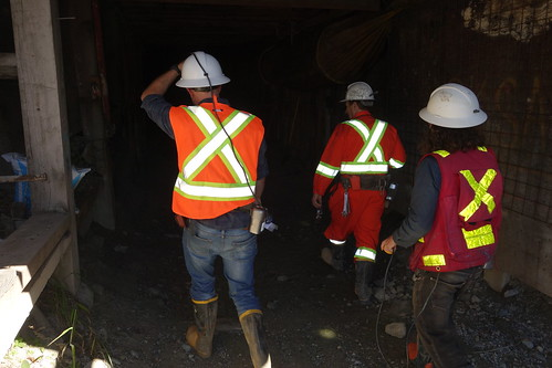 Bralorne Project - Former gold mine in southern British Columbia owned by Talisker Resources. Tour conducted by company in September 2020.