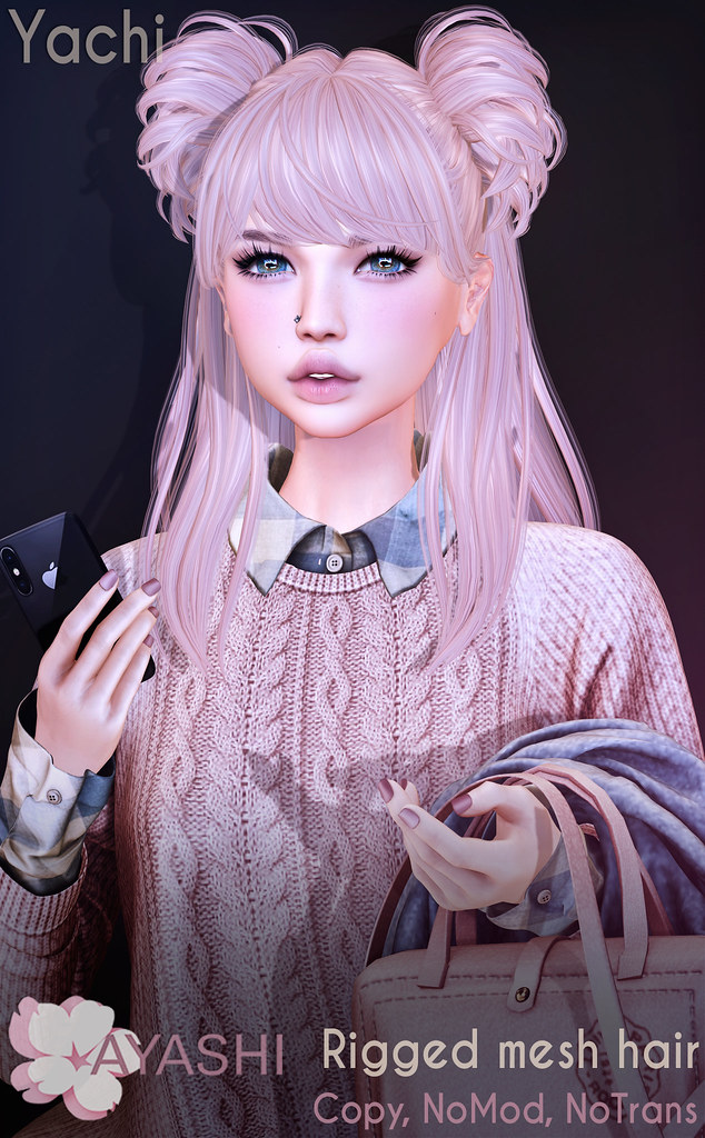 [^.^Ayashi^.^] Yachi hair special for FaMESHed
