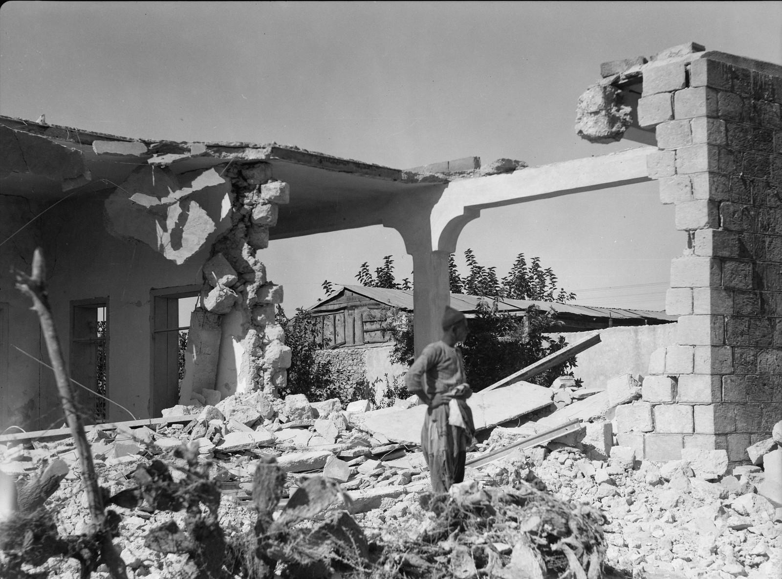 12. Снос арабских домов в Лоде
